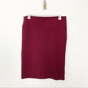 NWT LuLaRoe Cassie Skirt XL #2195